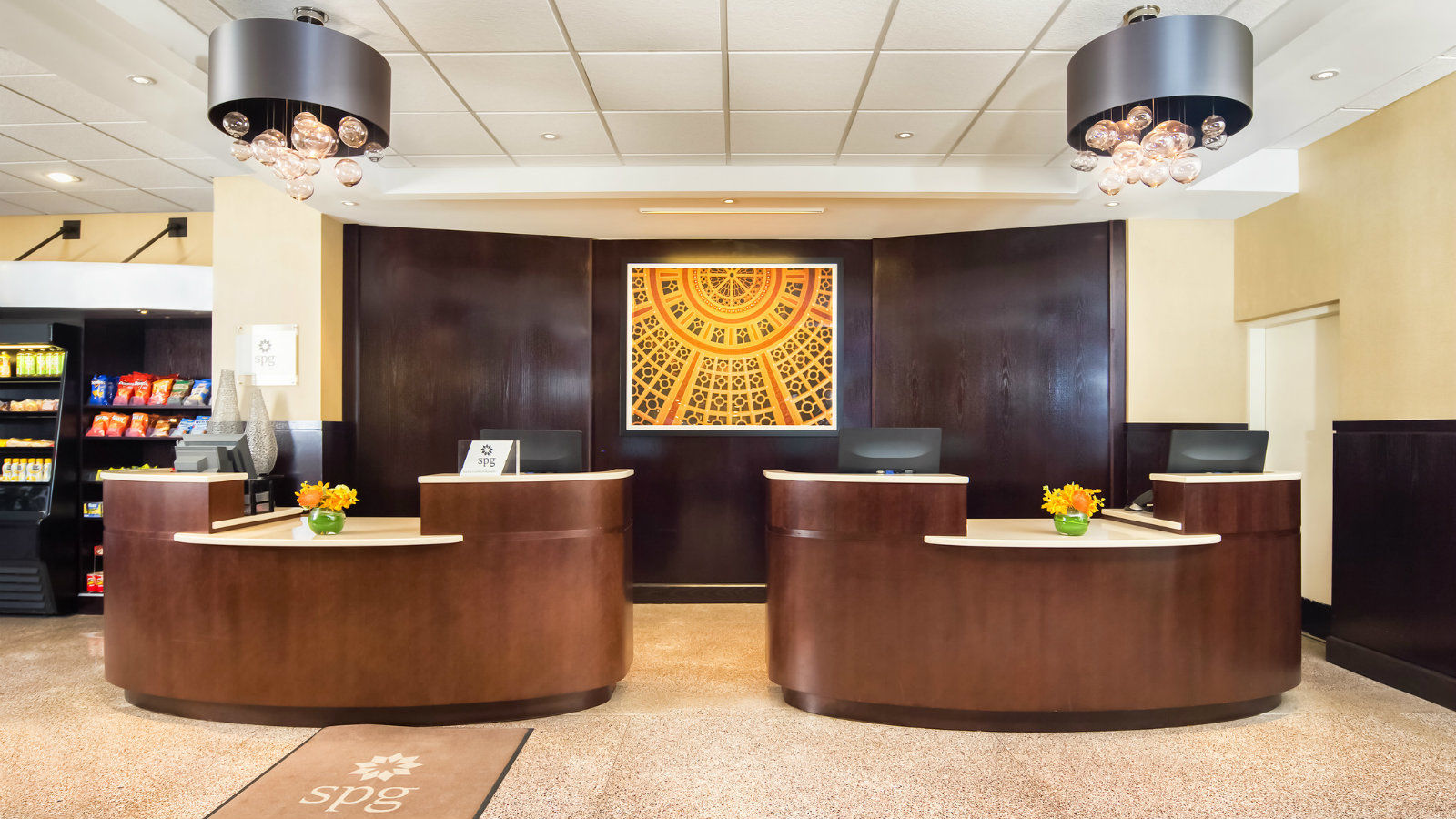 Reston Hotel Features - Hotel Front Desk